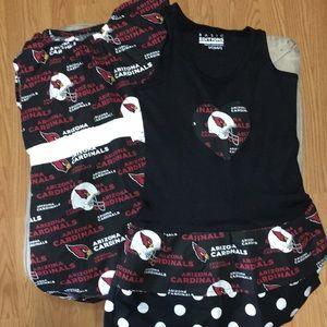 Sale 2/$10 Set of 2 AZ Cardinals dresses size 6/6X